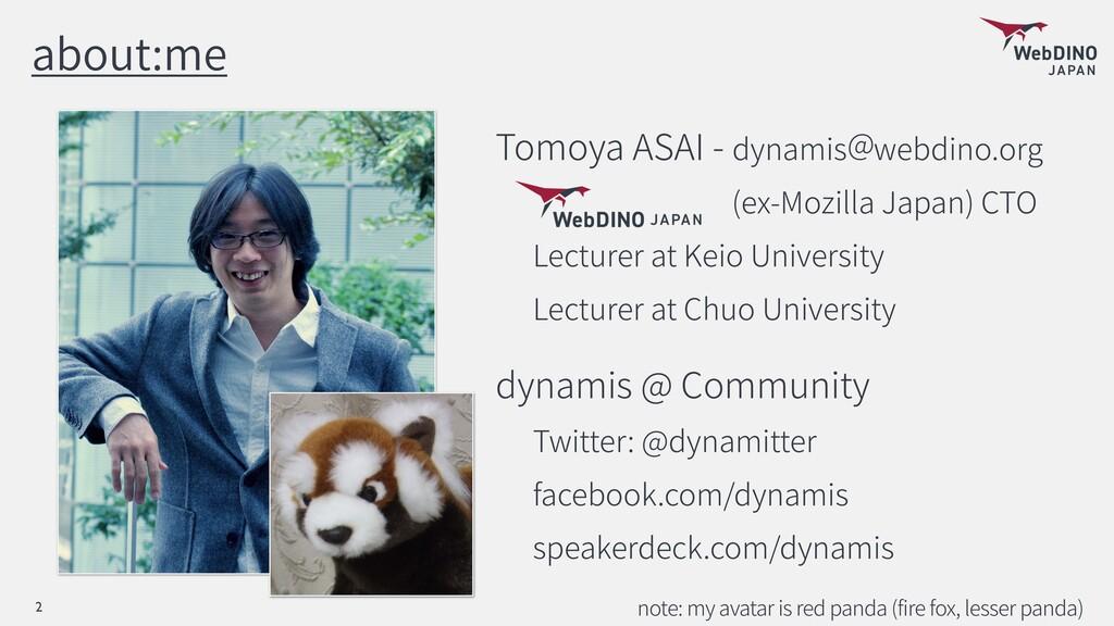 about:me Tomoya ASAI - dynamis webdino.org (ex-...