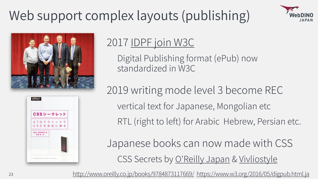 Web support complex layouts (publishing) 2017 I...