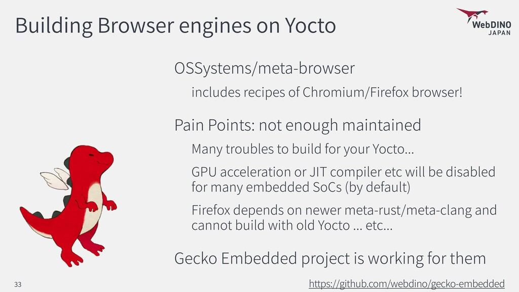 Building Browser engines on Yocto OSSystems/met...
