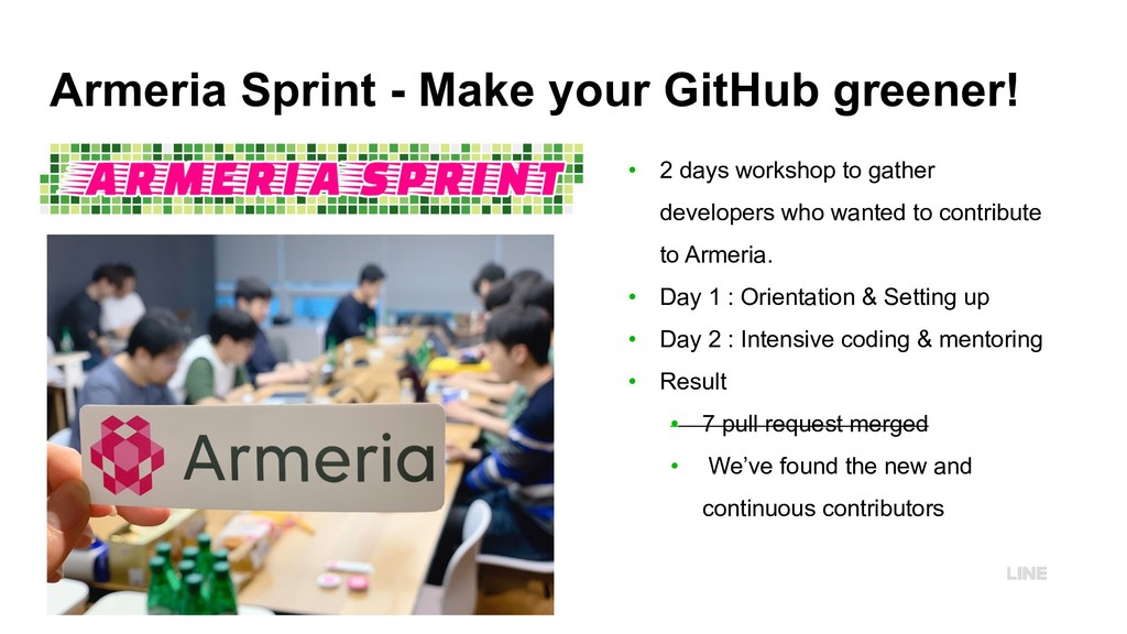 Armeria Sprint - Make your GitHub greener! • 2 ...