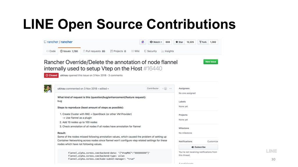 LINE Open Source Contributions 30