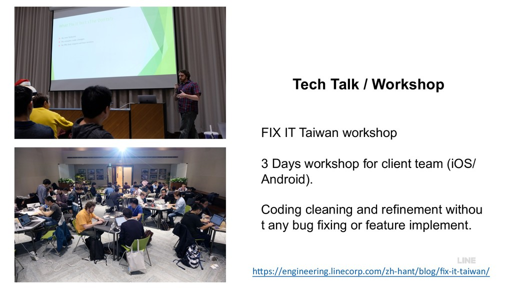 Tech Talk / Workshop FIX IT Taiwan workshop 3 D...