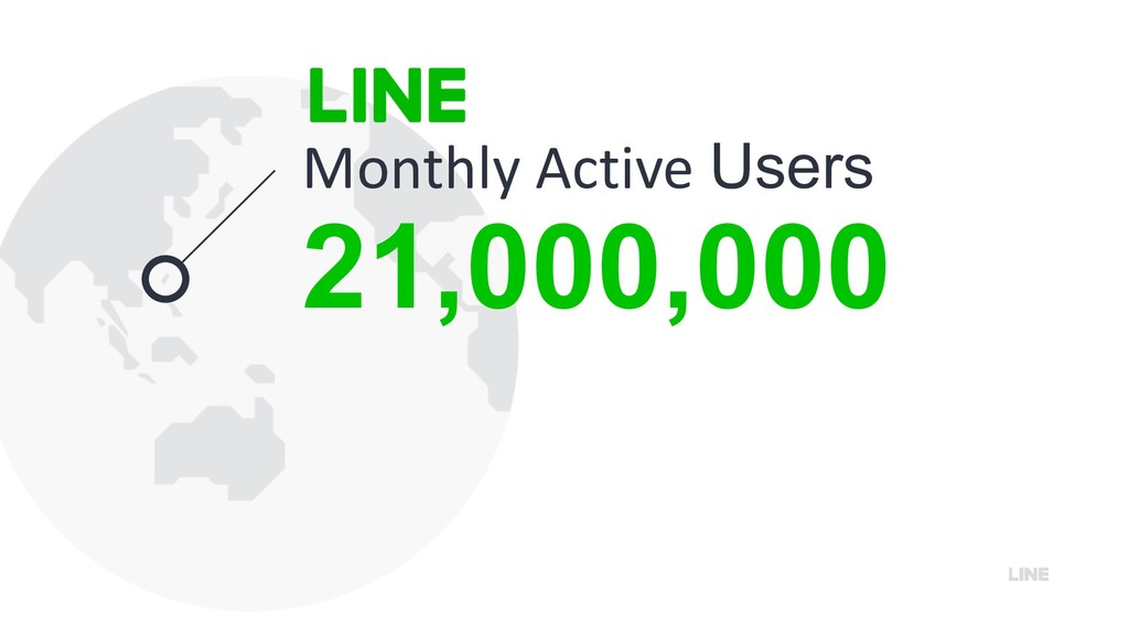 21,000,000 Monthly Active Users