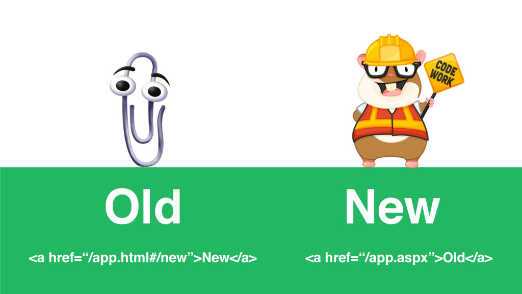 "<a href=""/app.html#/new"">New</a> <a href=""/app...."