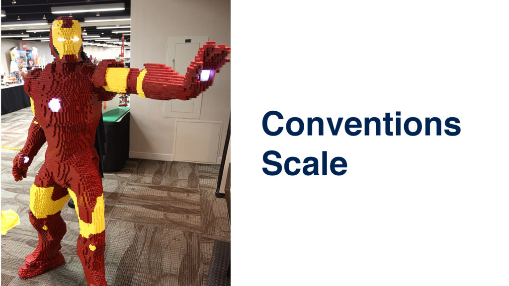 Conventions Scale