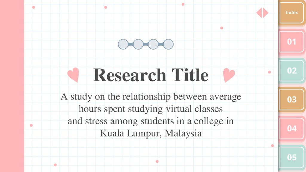 Research Title A study on the relationship betw...