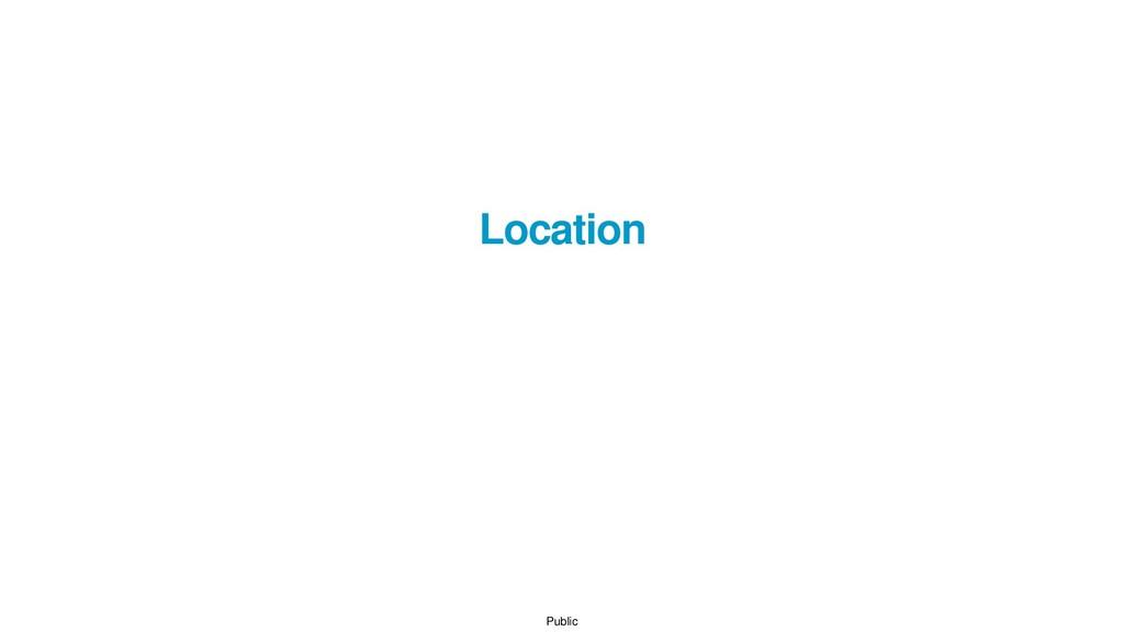 Public Location