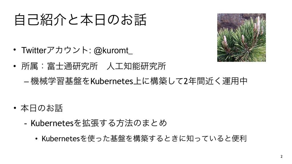 ࣗݾհͱຊͷ͓ • TwitterΞΧϯτ: @kuromt_ • ॴଐɿ௨ݚڀॴ...