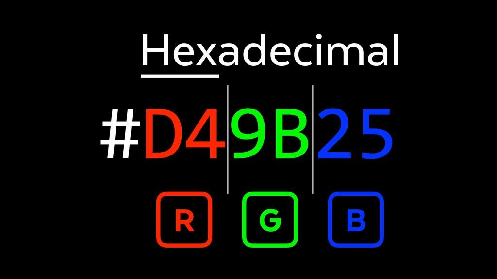 #D49B25 R G B Hexadecimal