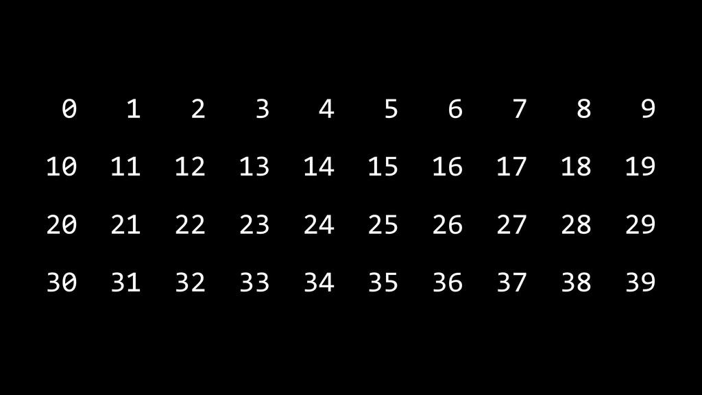 0 1 2 3 4 5 6 7 8 9 10 11 12 13 14 15 16 17 18 ...