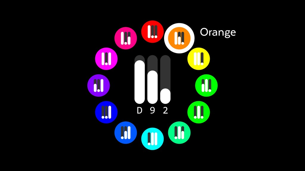 Orange 2 9 D