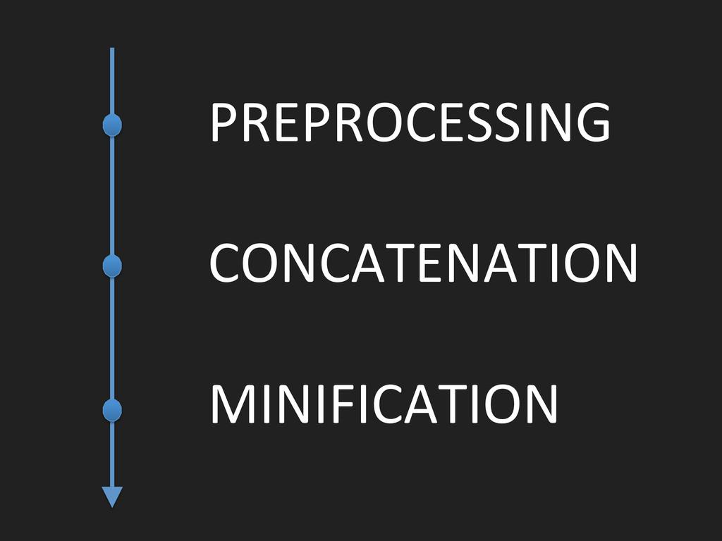 PREPROCESSING  CONCATENATION  MINIFICATIO...