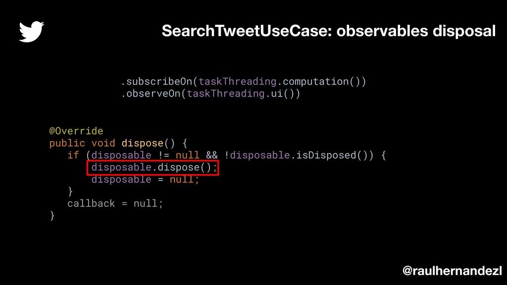 @Override public void dispose() { if (disposabl...