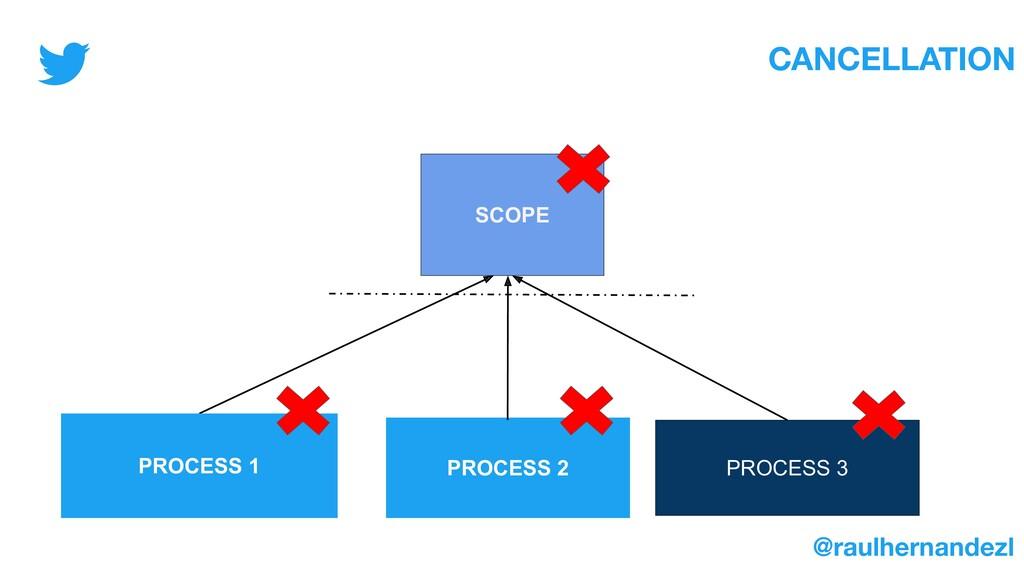SCOPE PROCESS 3 PROCESS 2 CANCELLATION PROCESS ...