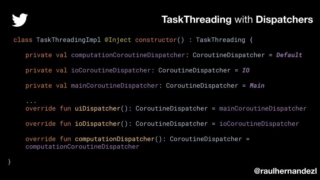 class TaskThreadingImpl @Inject constructor() :...
