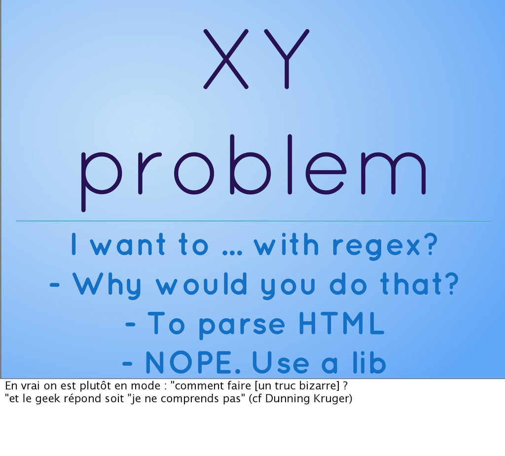 XY problem I want to ... with regex? - Why woul...