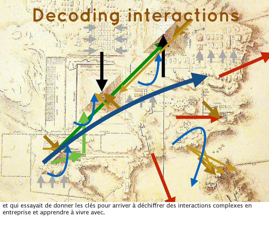 Decoding interactions et qui essayait de donner...