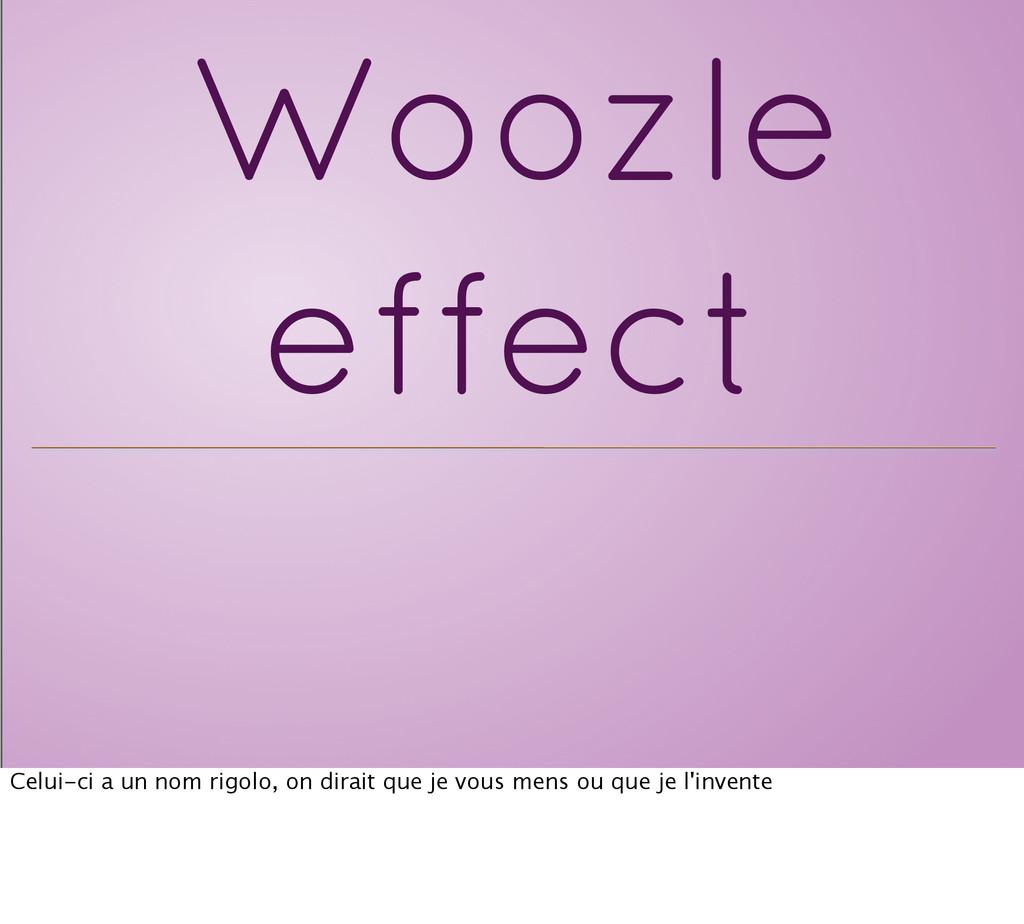Woozle effect Celui-ci a un nom rigolo, on dira...