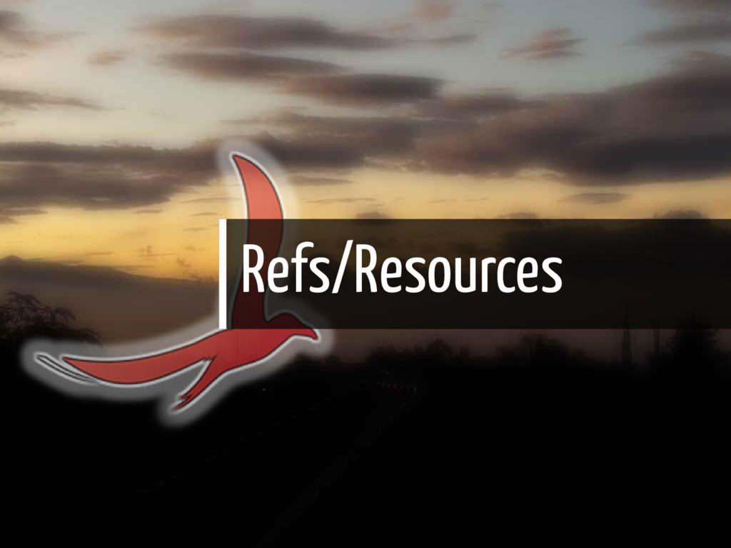 Refs/Resources 33 / 35
