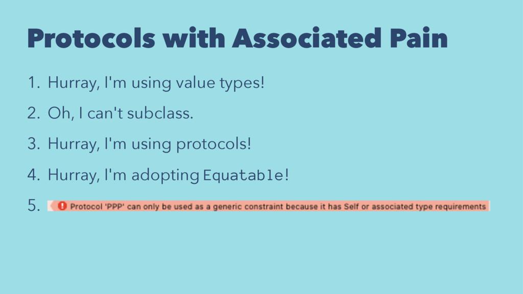Protocols with Associated Pain 1. Hurray, I'm u...