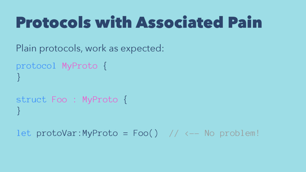 Protocols with Associated Pain Plain protocols,...