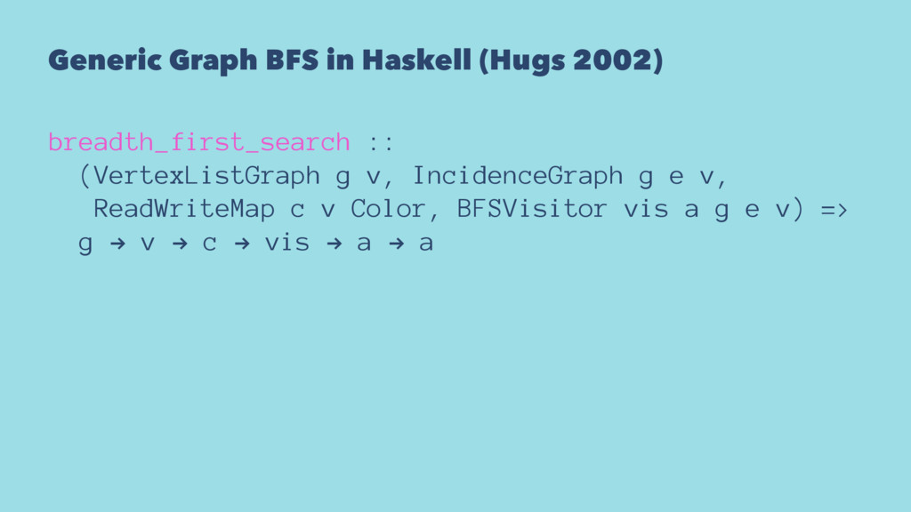Generic Graph BFS in Haskell (Hugs 2002) breadt...
