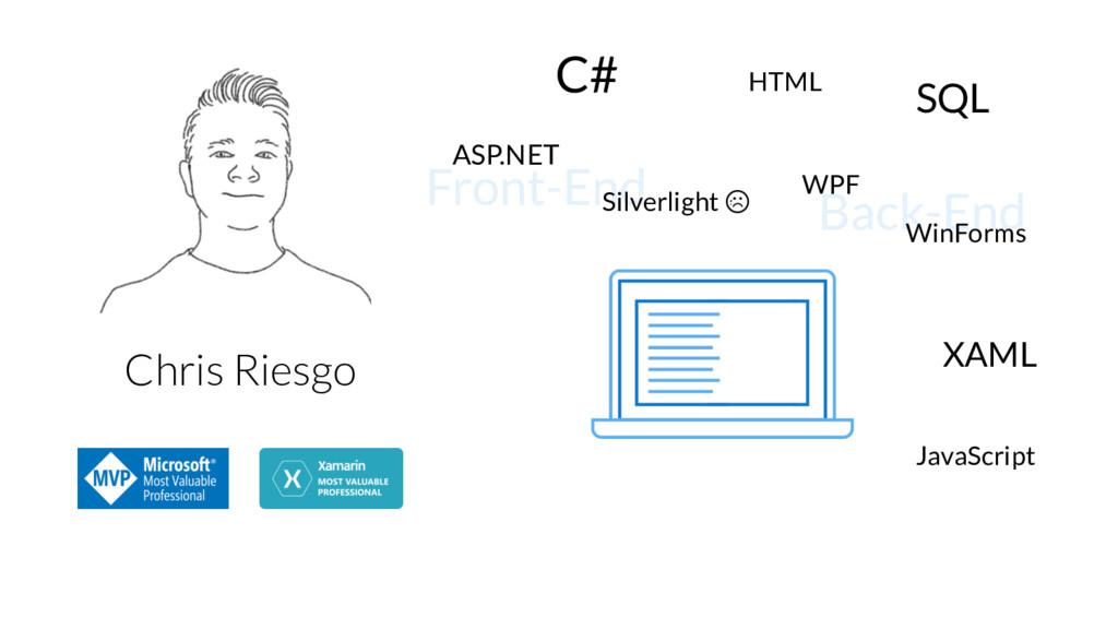 ASP.NET C# Silverlight WPF XAML SQL WinForms HT...