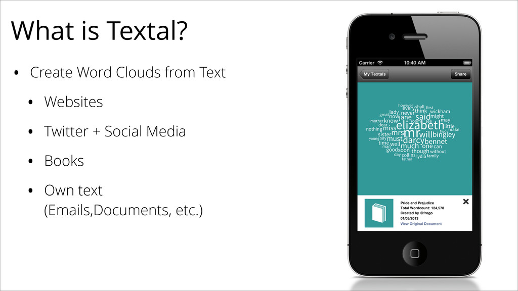 • Create Word Clouds from Text • Websites • Twi...