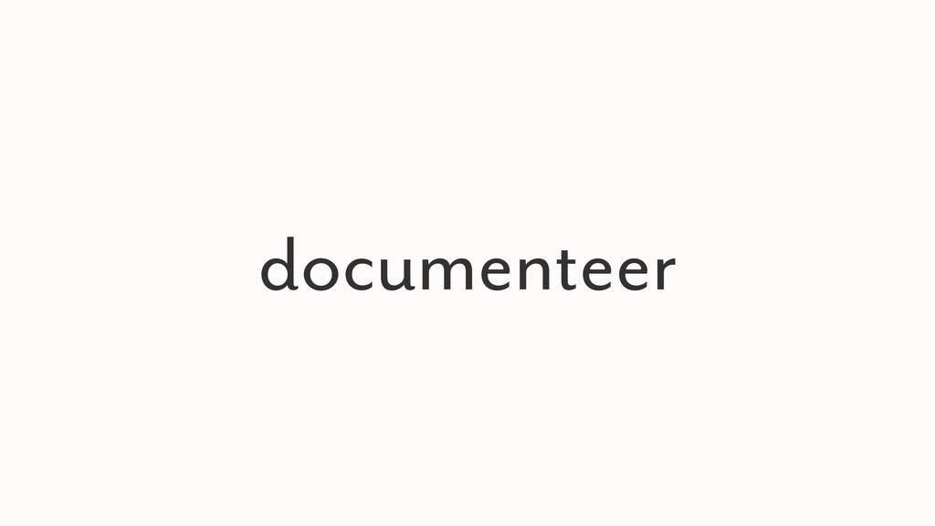documenteer