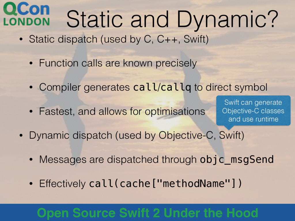 @alblue Open Source Swift 2 Under the Hood Stat...