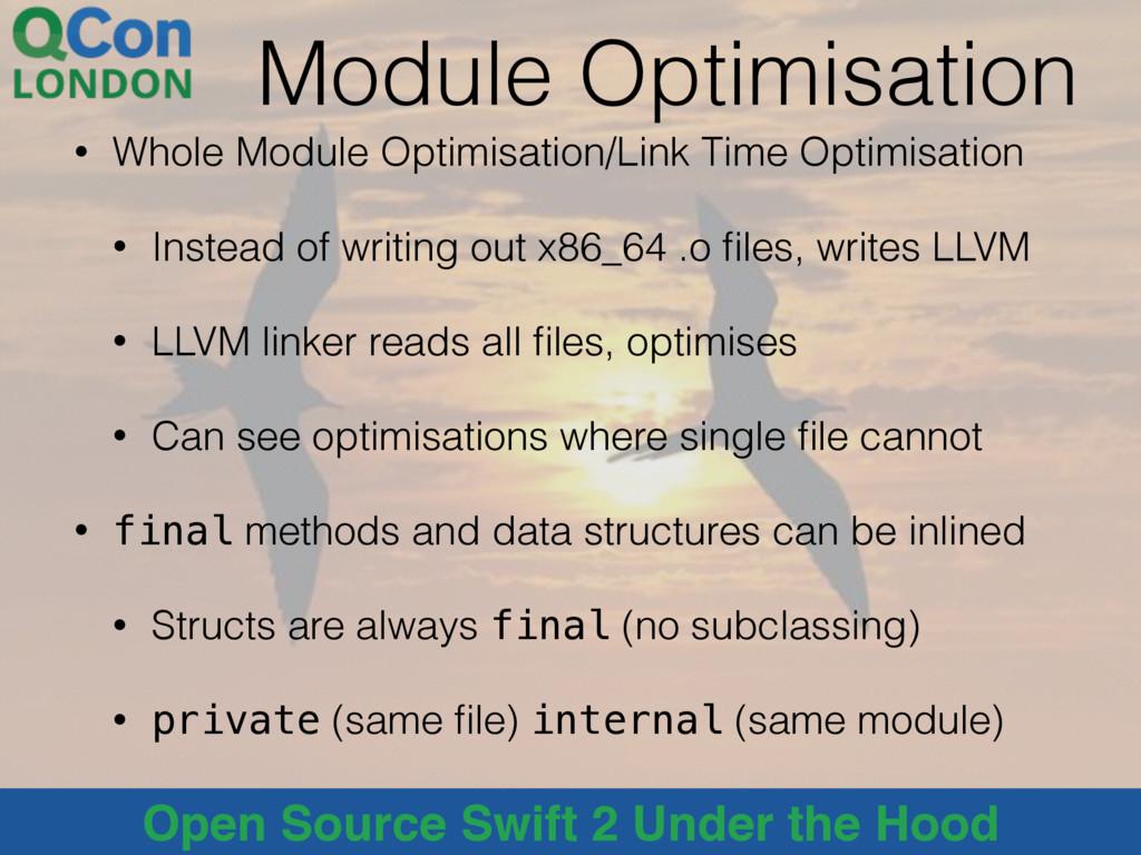 @alblue Open Source Swift 2 Under the Hood Modu...