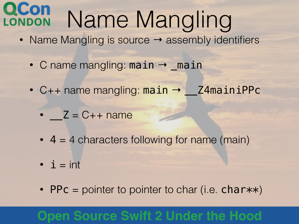 @alblue Open Source Swift 2 Under the Hood Name...