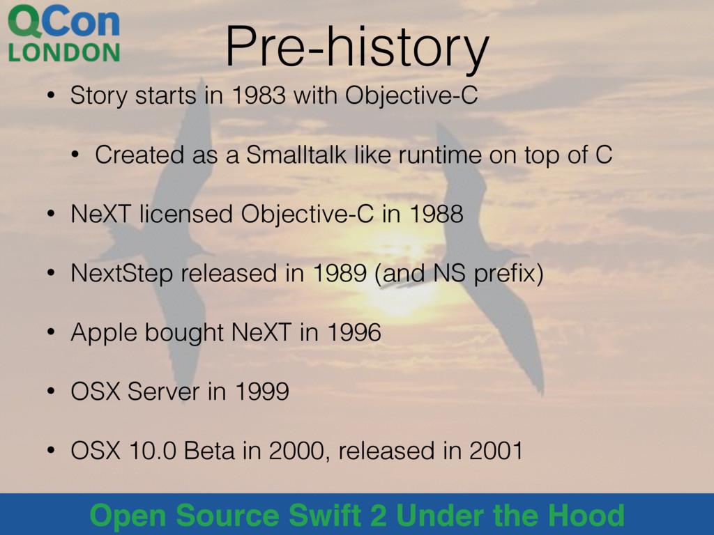 @alblue Open Source Swift 2 Under the Hood Pre-...
