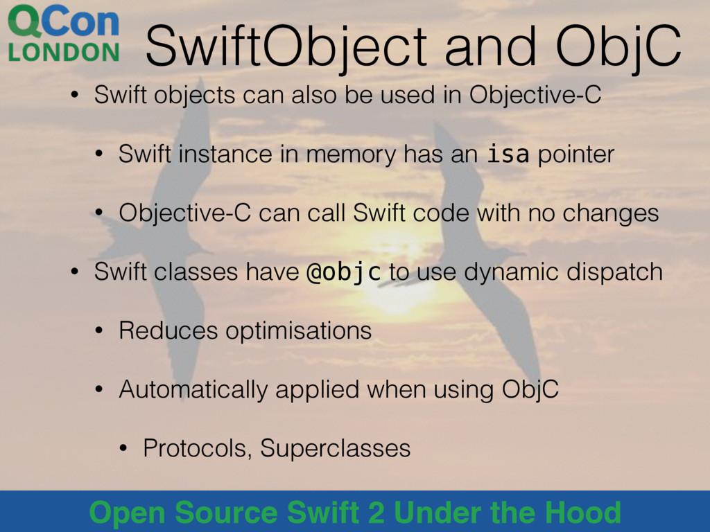 @alblue Open Source Swift 2 Under the Hood Swif...