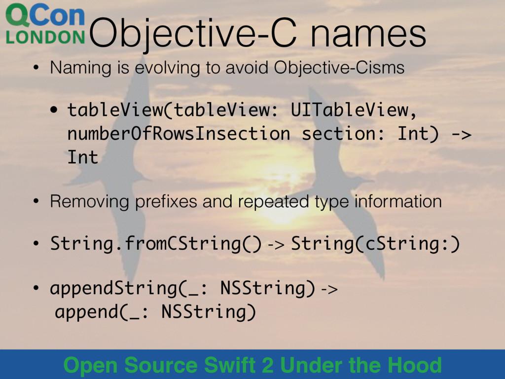 @alblue Open Source Swift 2 Under the Hood Obje...