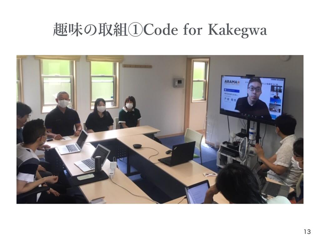 趣味 取組①Code for Kakegwa