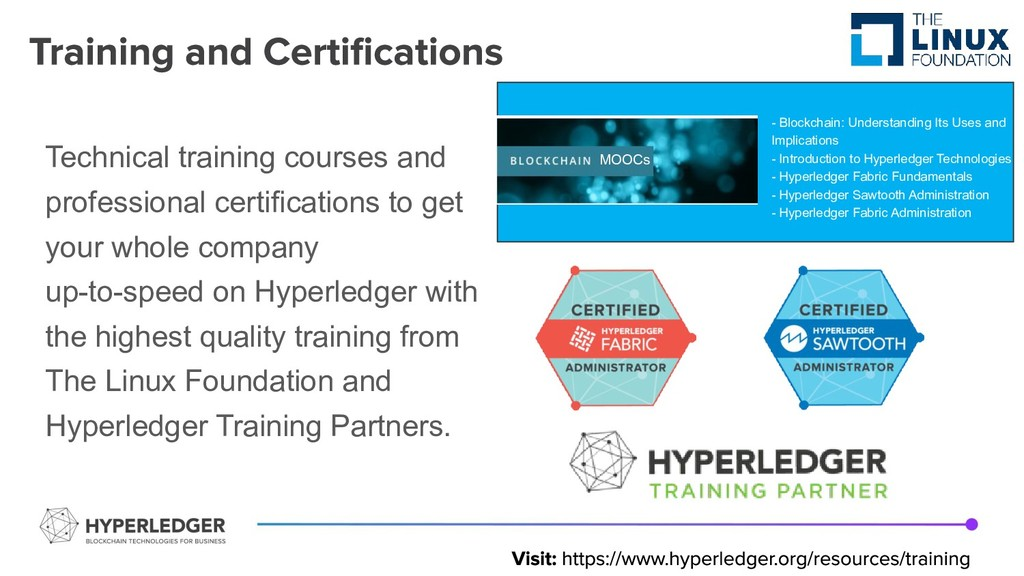 Technical training courses and professional cer...