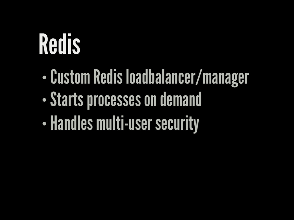 Redis Custom Redis loadbalancer/manager Starts ...