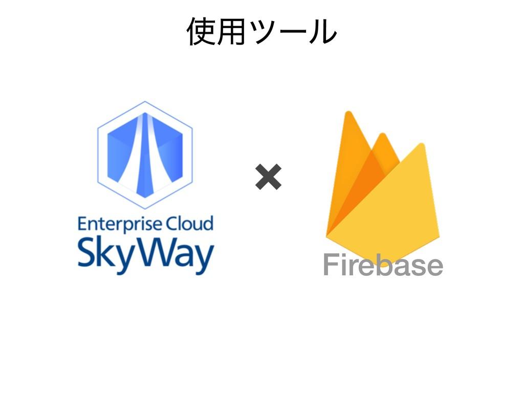 Firebase ✖ ༻πʔϧ