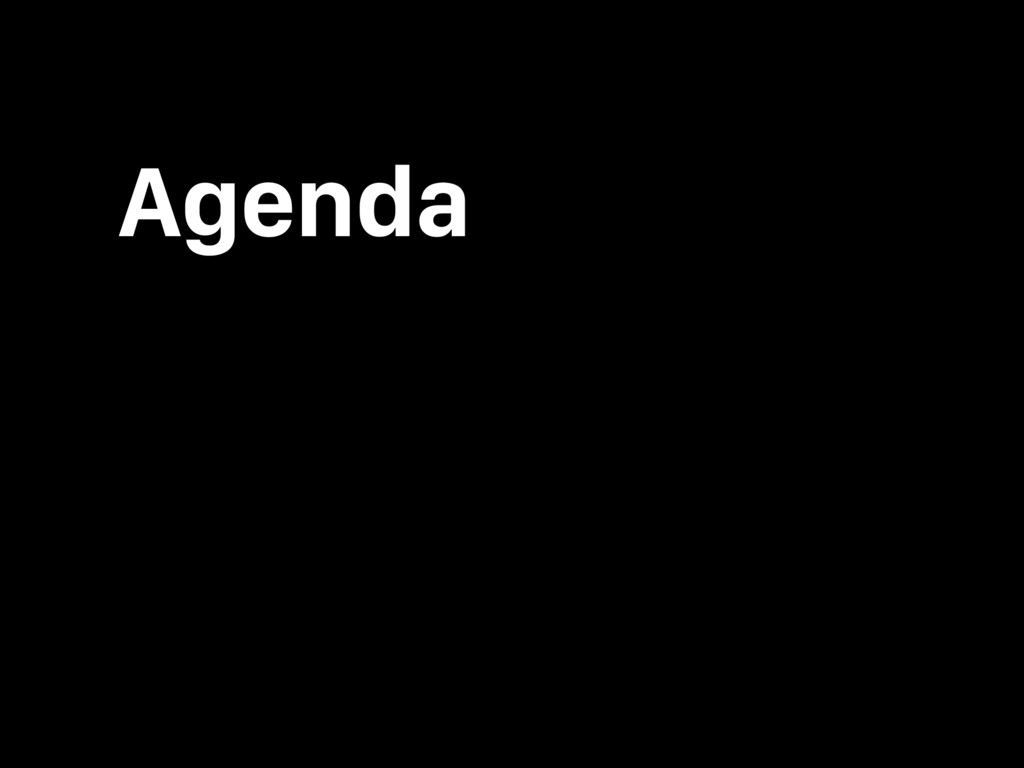 Agenda What is Angular? What's wrong with Angul...