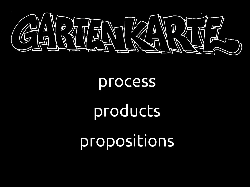 process products propositions