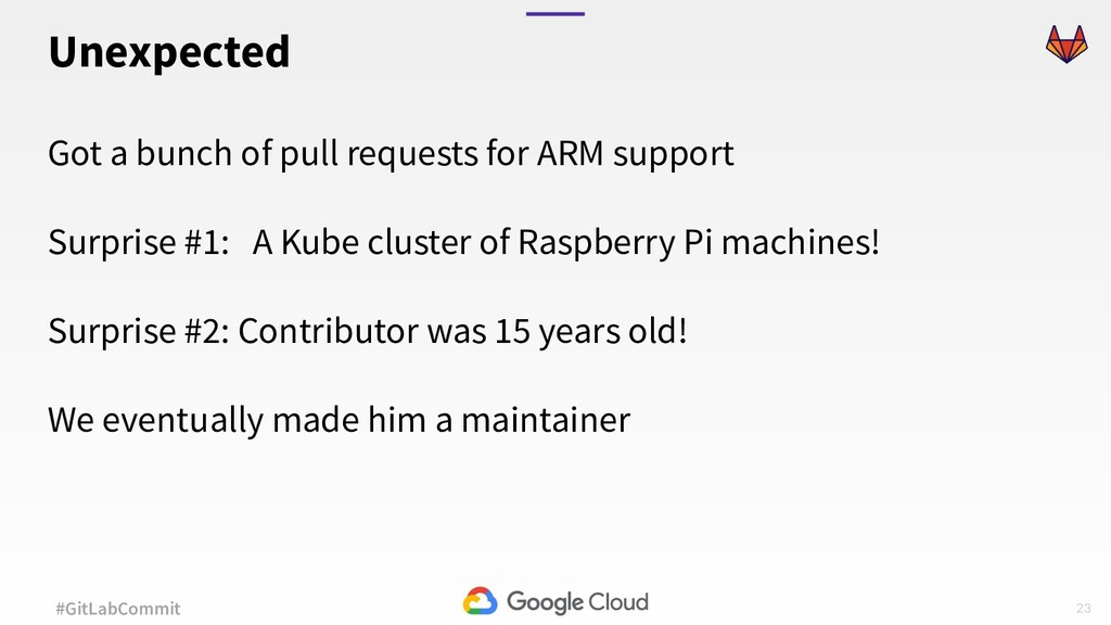 23 #GitLabCommit Got a bunch of pull requests f...
