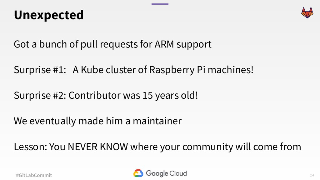 24 #GitLabCommit Got a bunch of pull requests f...