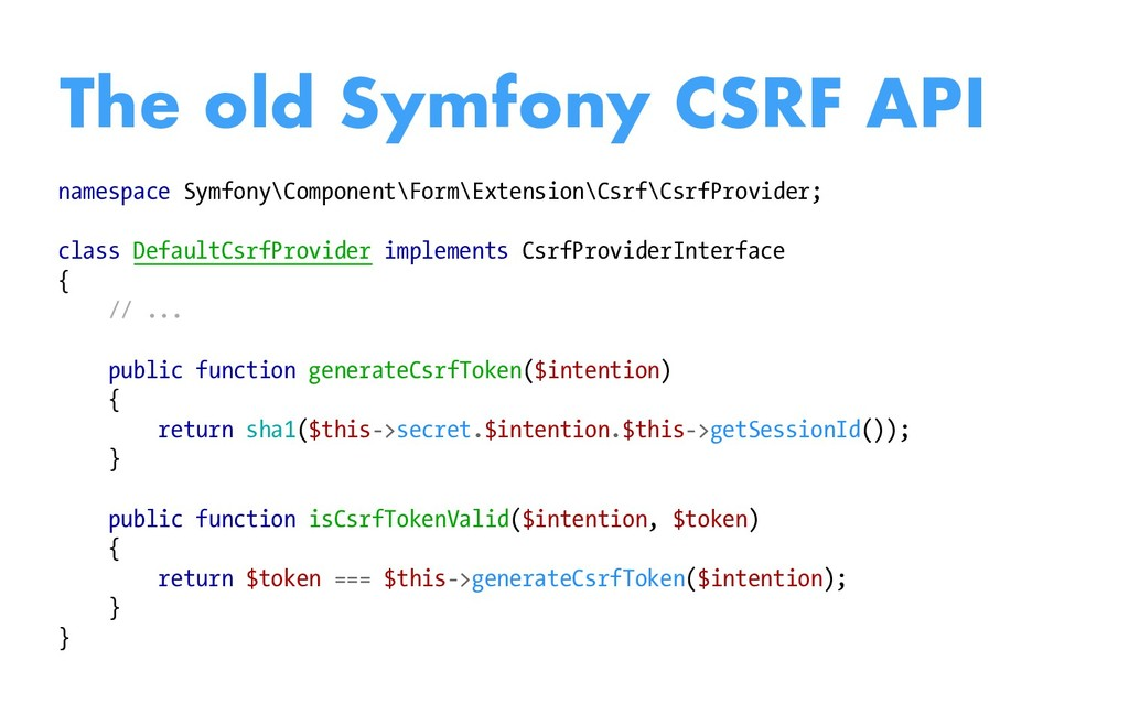 namespace Symfony\Component\Form\Extension\Csrf...