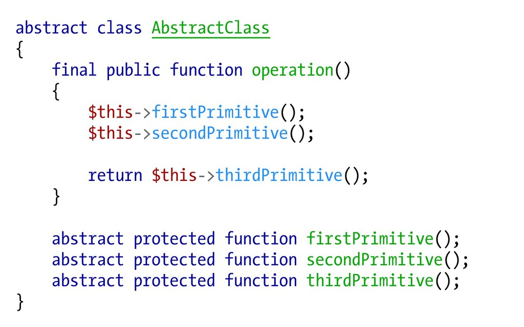 abstract class AbstractClass { final public fun...