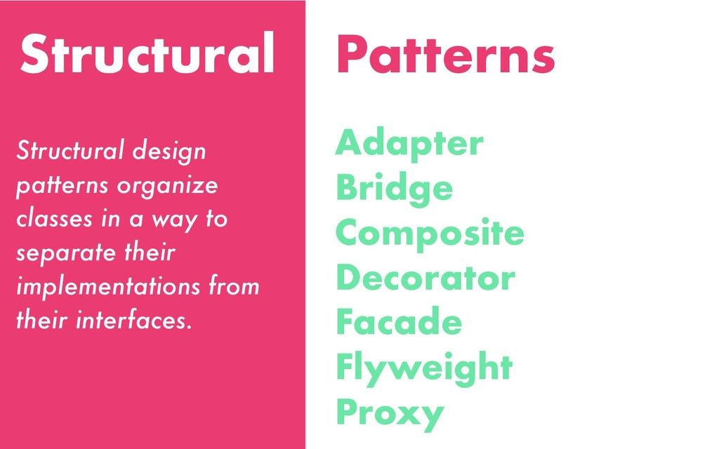 Structural Adapter Bridge Composite Decorator F...