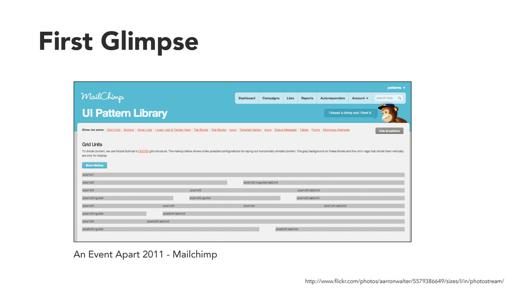 First Glimpse An Event Apart 2011 - Mailchimp h...