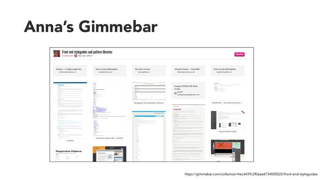 Anna's Gimmebar https://gimmebar.com/collection...