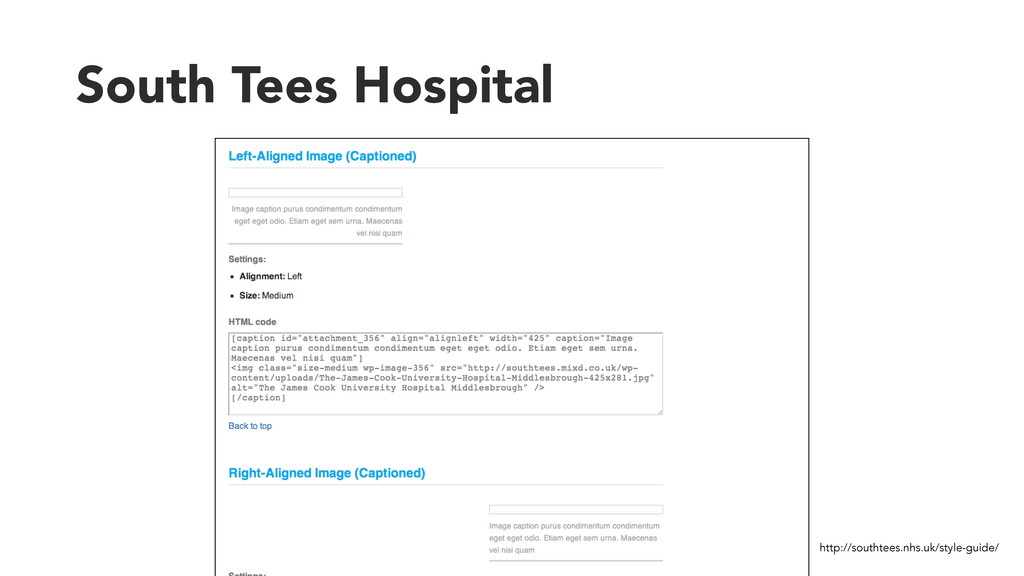 South Tees Hospital http://southtees.nhs.uk/sty...