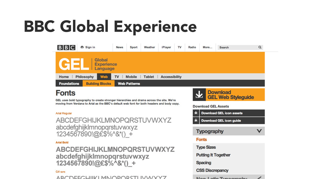 BBC Global Experience